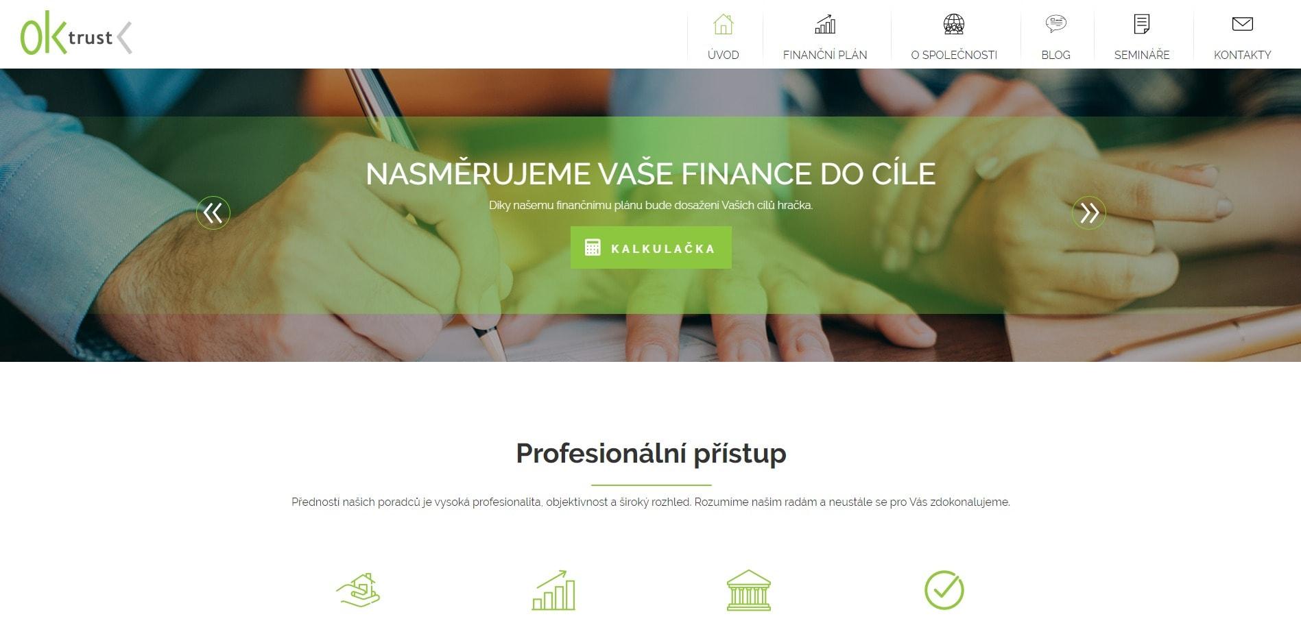 OKtrust – finance