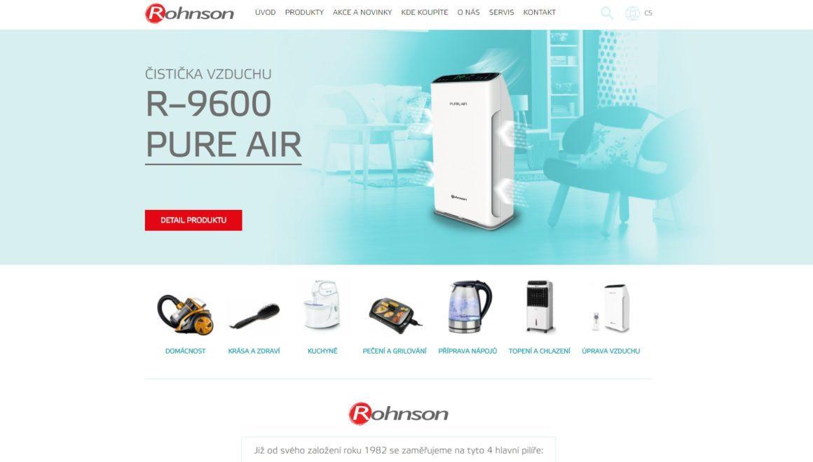 Spotřebiče Rohnson