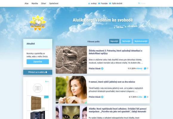 Aluska.org – osobní blog