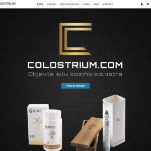 Colostrium.com – eshop