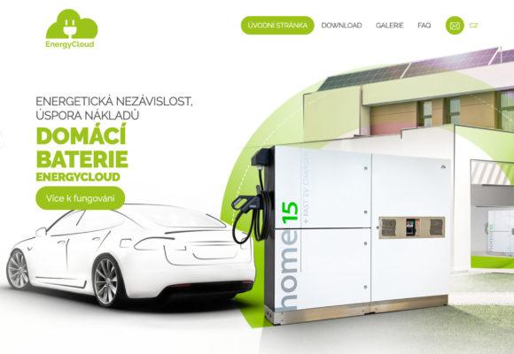 EnergyCloud – domácí baterie