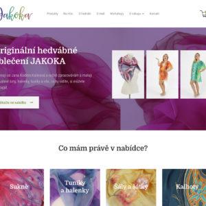 Jakoka.cz – hedvábné šaty