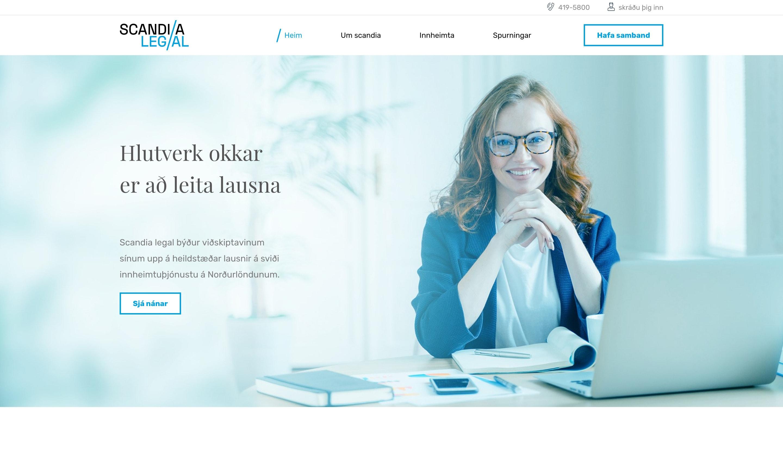 Scandia Legal – islandská firma