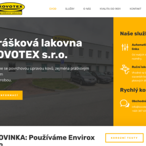 Kovotex s.r.o. – lakovna