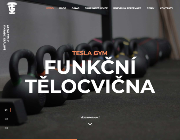 TESLA Gym – fitness centrum