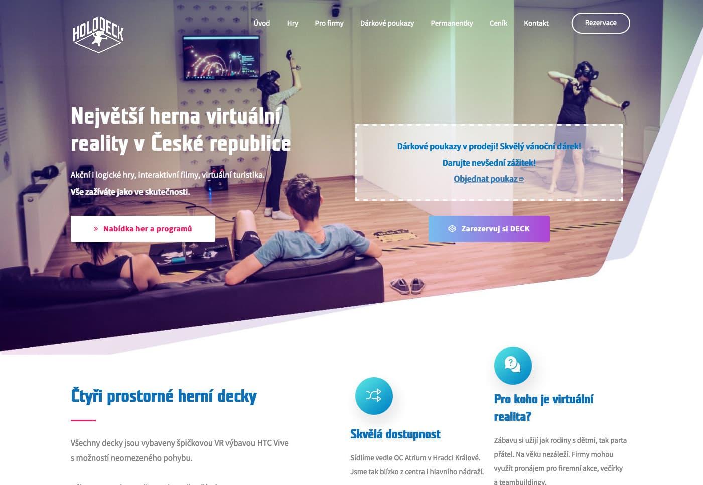 Holodeck – Virtuální realita