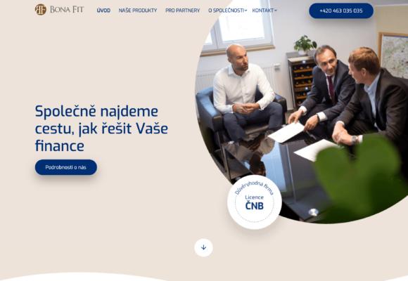 Bona Fit – úvěrová společnost