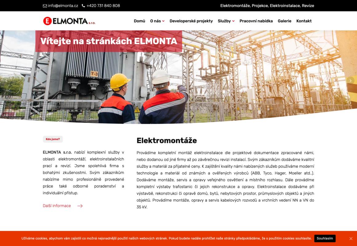 ELMONTA – Elektromontáže