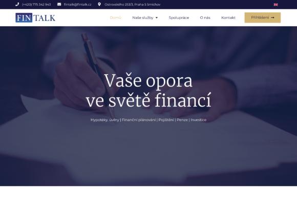 FinTalk – finanční poradenská