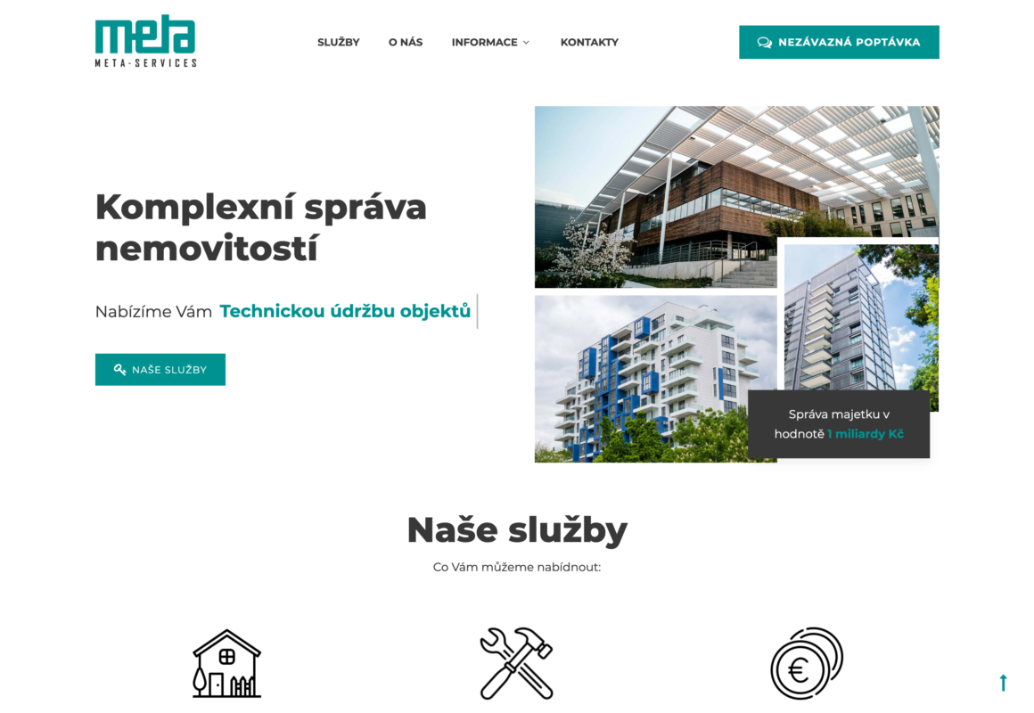 Metaservices – správa nemovitostí