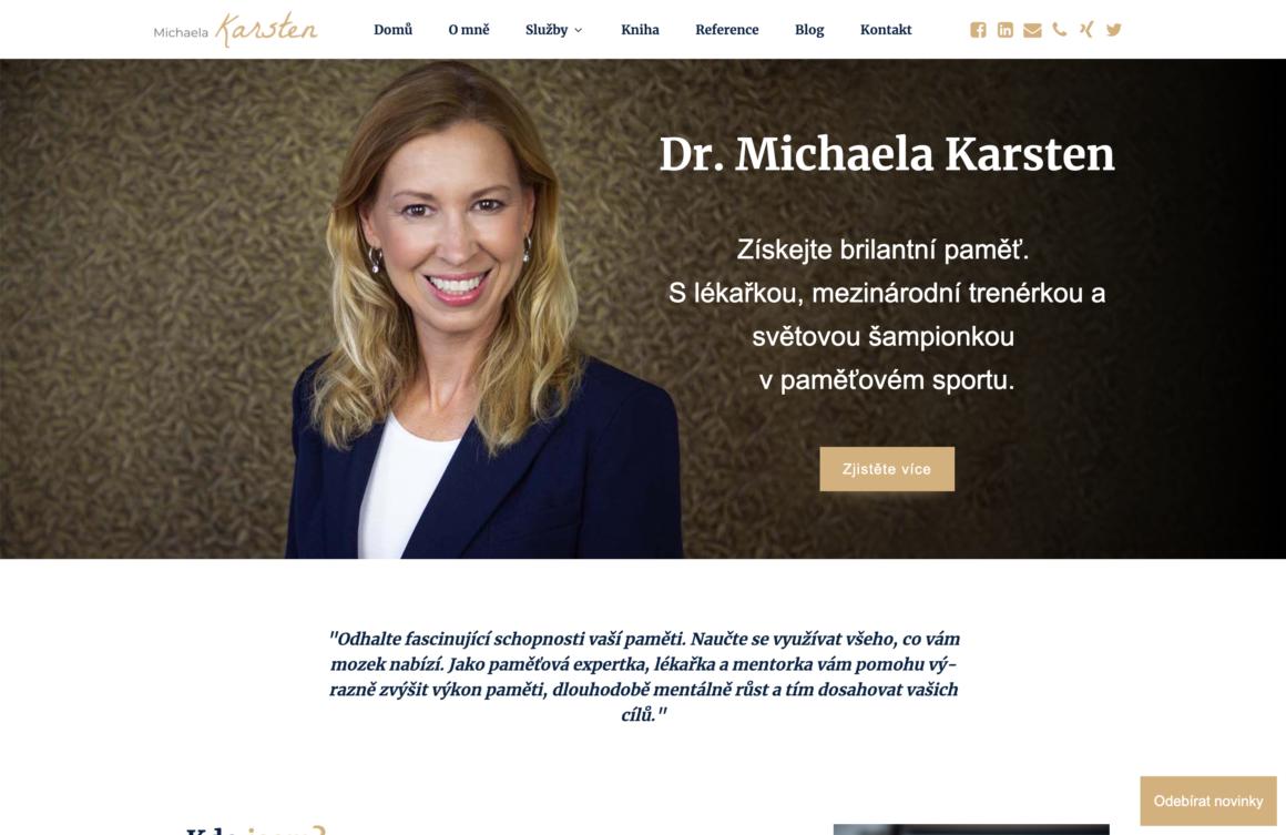 Michaela Karsten – profesní web