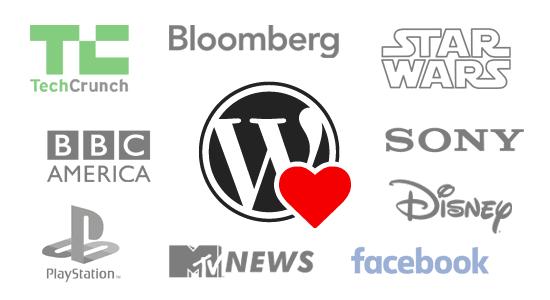 Známé weby postavené na WordPressu