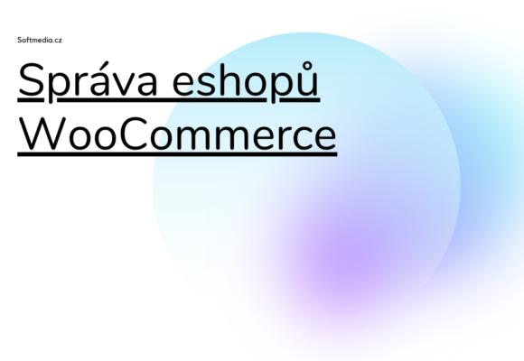 Správa eshopů WooCommerce