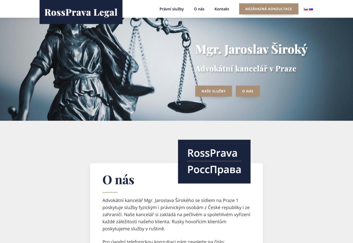 Advokátní kancelář RossPrava Legal